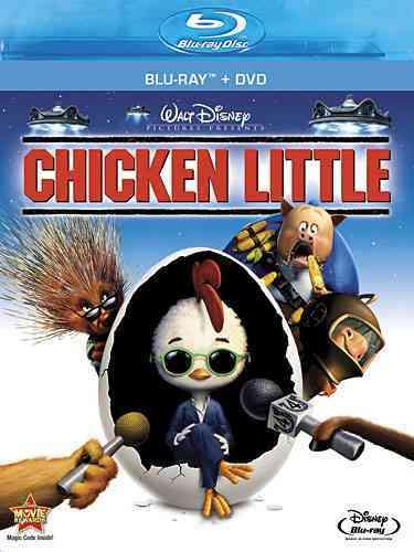 CHICKEN LITTLE BY BRAFF,ZACH (Blu-Ray)