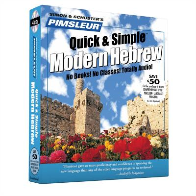 [CD] Pimsleur Quick & Simple Hebrew